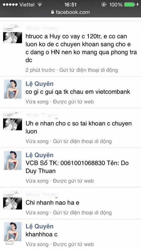 Muon kieu cu xu cua hacker sau khi cuop duoc Facebook sao Viet - Anh 7