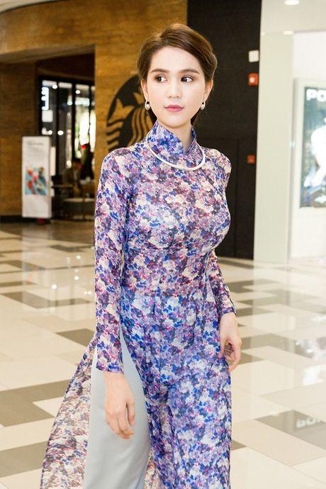 Ngoc Trinh cung dan my nhan Viet hoa than thanh quy co Sai Gon xua - Anh 2