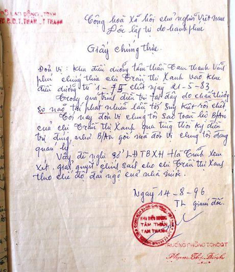 Ha Tinh: De nghi cong nhan Liet sy cho nu thanh nien xung phong hi sinh 33 nam - Anh 1
