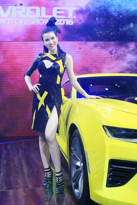 Rung chan dai goi cam tai Vietnam Motor Show 2016 - Anh 6