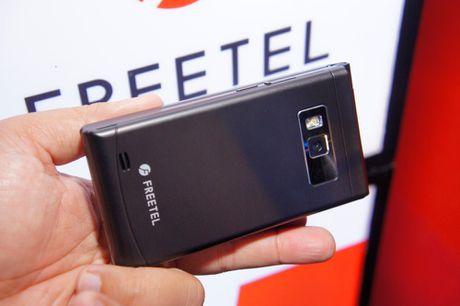 Smartphone Freetel Nhat Ban gia nhap thi truong Viet Nam - Anh 1