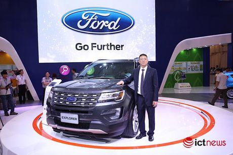 Ford Explorer 2017: Nhap nguyen chiec tu My, gia 2,18 ty dong - Anh 1