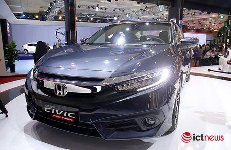 Honda Civic moi lo dien o Viet Nam co gi hap dan? - Anh 7