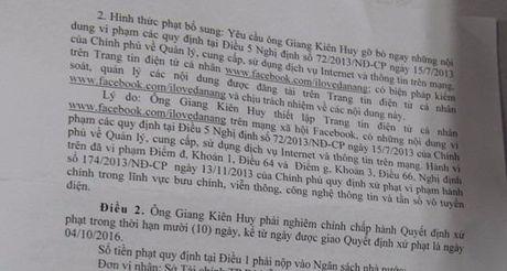 Xu phat chu fanpage de nhieu comment boi nho lanh dao - Anh 1