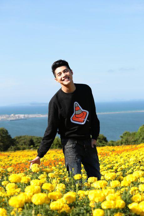 Noo Phuoc Thinh tiep tuc hen ho co gai Nhat trong MV - Anh 1