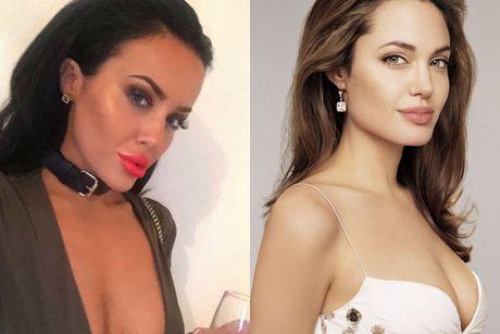 Co gai duoc coi nhu Angelina Jolie cua nuoc Anh - Anh 3