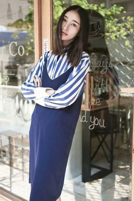 Hoc Hoang Thuy Linh va Thanh Hang mix do cho mua Thu - Anh 12
