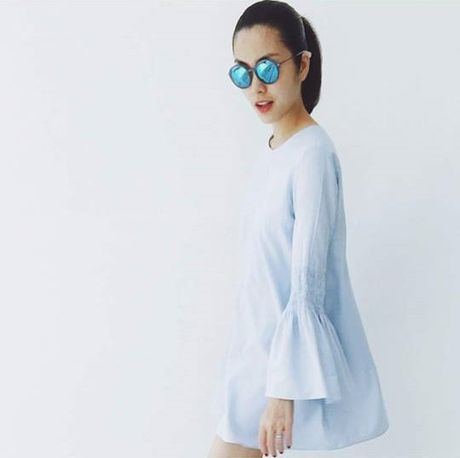 Hoc Hoang Thuy Linh va Thanh Hang mix do cho mua Thu - Anh 15