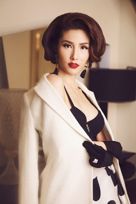 Diem My 9x goi cam trong bo anh lay y tuong tu Marilyn Monroe - Anh 3