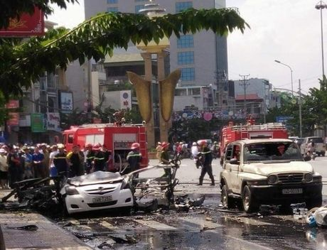 Vu no xe taxi Cam Pha: Thu tuyet menh viet gi? - Anh 1