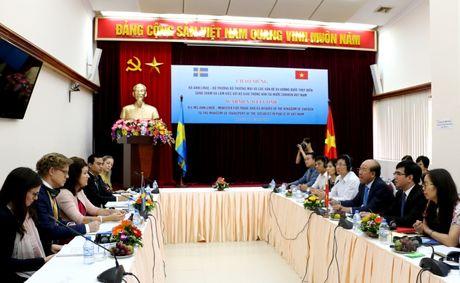 Day manh hop tac toan dien Viet Nam-Thuy Dien linh vuc GTVT - Anh 1