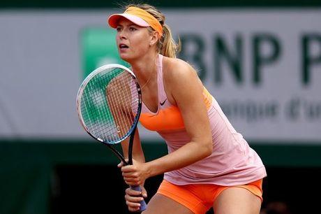 'Bup be Nga' Sharapova duoc giam an, tro lai thi dau vao nam 2017 - Anh 1