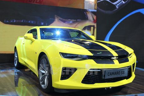 Can canh 'Ngoi sao Hollywood' Chevrolet Camaro SS 2016 tai VMS - Anh 8