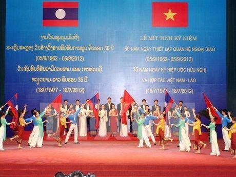 Tang cuong hop tac toan dien giua 2 tinh Quang Nam va Sekong - Anh 1