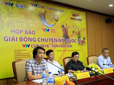 Bong chuyen Viet Nam dai chien Thai Lan, Nhat Ban o VTV Cup - Anh 1