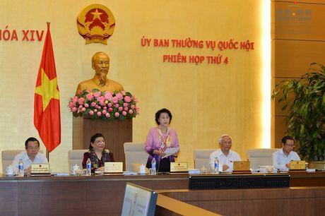 UBTVQH thao luan du an Luat Ho tro doanh nghiep nho va vua - Anh 1