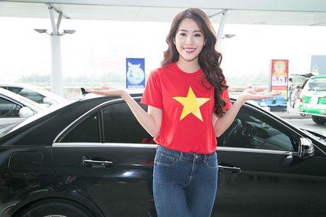 Nam Em mac gian di, tu tin len duong du thi Miss Earth - Anh 2