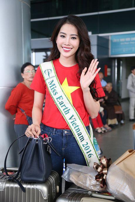 Nam Em mac gian di, tu tin len duong du thi Miss Earth - Anh 9