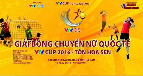 Lich thi dau va tuong thuat truc tiep giai bong chuyen nu VTV Cup 2016 - Anh 1