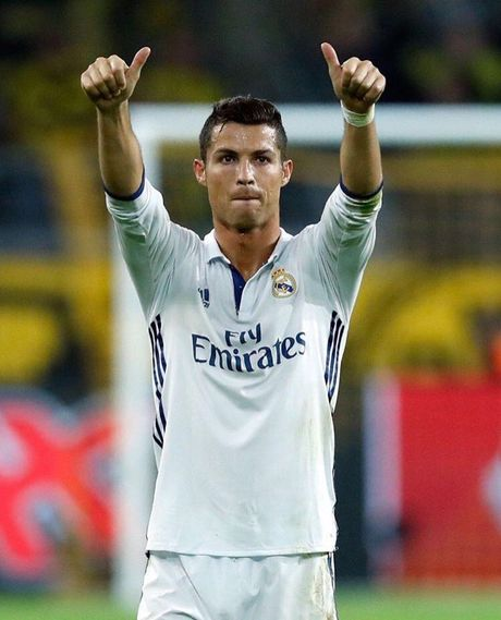 Top 50 cau thu duoc theo doi nhieu nhat mang xa hoi (Ky 1): Cristiano Ronaldo - Anh 10