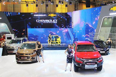Chevrolet Viet Nam 'show hang xe co bap' tai VMS 2016 - Anh 1