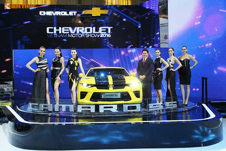 Chevrolet Viet Nam 'show hang xe co bap' tai VMS 2016 - Anh 2