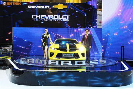 Chevrolet Viet Nam 'show hang xe co bap' tai VMS 2016 - Anh 3
