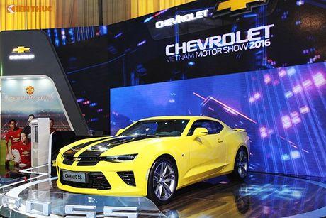 Chevrolet Viet Nam 'show hang xe co bap' tai VMS 2016 - Anh 4