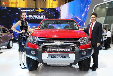 Chevrolet Viet Nam 'show hang xe co bap' tai VMS 2016 - Anh 5