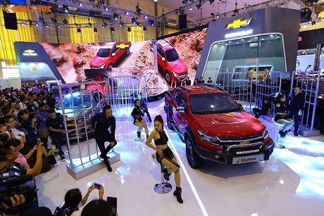 Chevrolet Viet Nam 'show hang xe co bap' tai VMS 2016 - Anh 7
