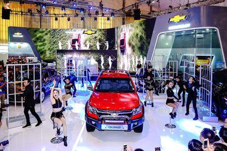 Chevrolet Viet Nam 'show hang xe co bap' tai VMS 2016 - Anh 8
