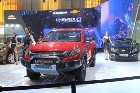 Chevrolet Viet Nam 'show hang xe co bap' tai VMS 2016 - Anh 9