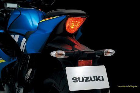 Suzuki 'trinh lang' xe moto the thao gia re GSX-R125 - Anh 11
