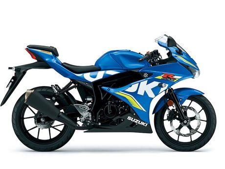 Suzuki 'trinh lang' xe moto the thao gia re GSX-R125 - Anh 1