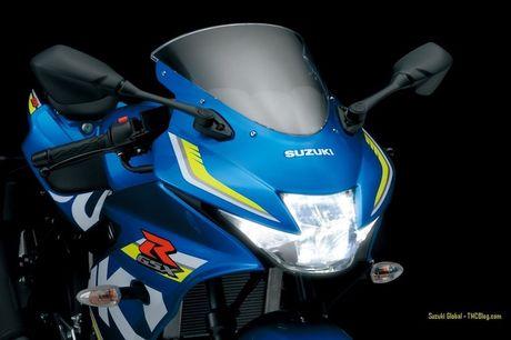 Suzuki 'trinh lang' xe moto the thao gia re GSX-R125 - Anh 3
