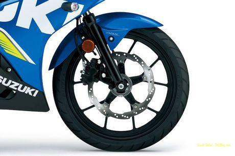 Suzuki 'trinh lang' xe moto the thao gia re GSX-R125 - Anh 4