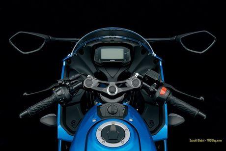 Suzuki 'trinh lang' xe moto the thao gia re GSX-R125 - Anh 5