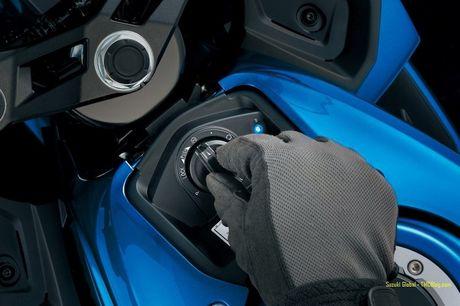 Suzuki 'trinh lang' xe moto the thao gia re GSX-R125 - Anh 6