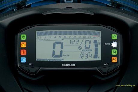 Suzuki 'trinh lang' xe moto the thao gia re GSX-R125 - Anh 7