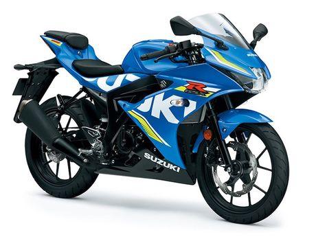 Suzuki 'trinh lang' xe moto the thao gia re GSX-R125 - Anh 9