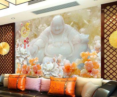 Trang tri phong khach voi da gia ngoc dep nhu chon bong lai - Anh 1