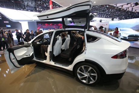 Vo Dan Truong 'show hang' sieu xe dien Tesla tien ty - Anh 9