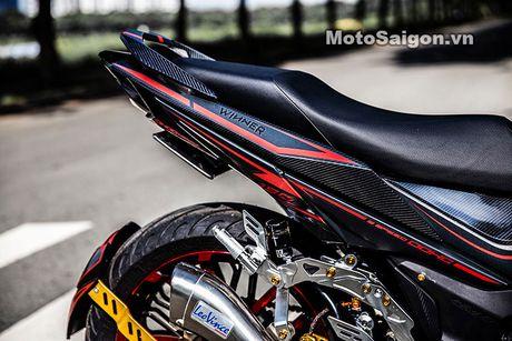 'Xe no' Honda Winner 150 do sieu khung tai Sai Gon - Anh 3