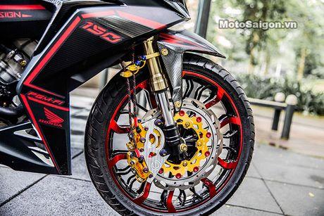 'Xe no' Honda Winner 150 do sieu khung tai Sai Gon - Anh 4