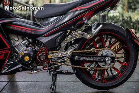 'Xe no' Honda Winner 150 do sieu khung tai Sai Gon - Anh 5