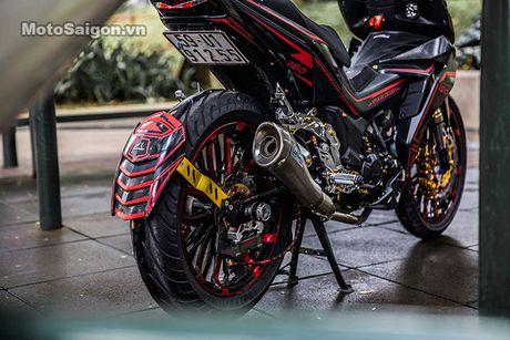 'Xe no' Honda Winner 150 do sieu khung tai Sai Gon - Anh 6