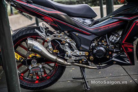 'Xe no' Honda Winner 150 do sieu khung tai Sai Gon - Anh 7
