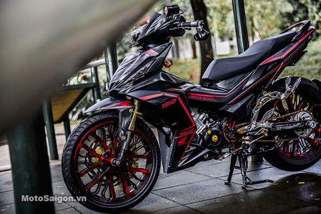 'Xe no' Honda Winner 150 do sieu khung tai Sai Gon - Anh 8