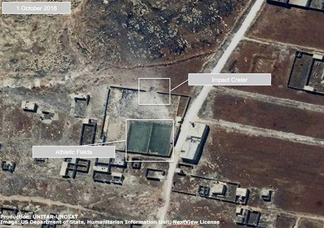 Anh ve tinh Aleppo tan hoang trong mua bom bao dan - Anh 2