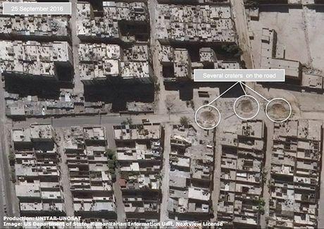 Anh ve tinh Aleppo tan hoang trong mua bom bao dan - Anh 6